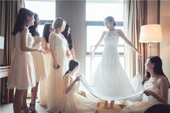 结婚当天女方准备流程