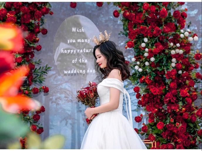 8000+在院子里办了场超美的农村婚礼