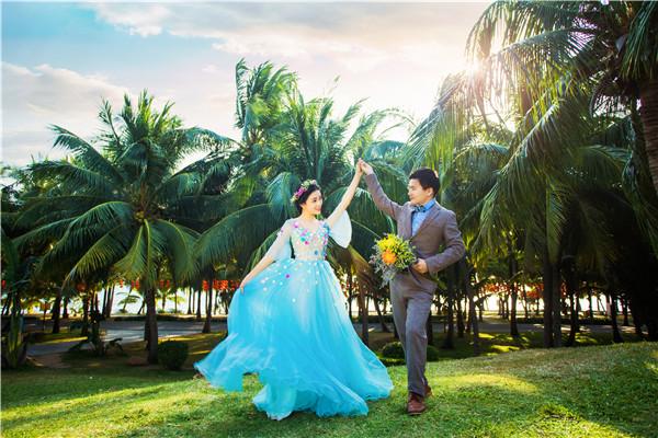 婚纱照拍摄如何才能充满活力的技巧