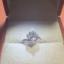 老公求婚买了个钻戒,1克拉的,小姐妹非说是70分