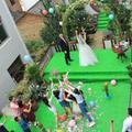 DIY农村户外草坪婚礼,全程记录攻略