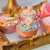 甜品桌上都是糖花 超级美
