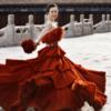 老公为我披上婚纱 太庙中国风爱我你怕了吗