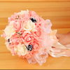 婚纱敬酒服配饰  可以送玫瑰花瓣