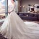 百位新娘试纱集合 亲身示范选纱如何扬长避短