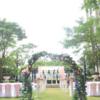 欧式花园来场浪漫草坪婚礼~