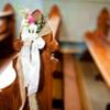 教堂婚礼 鲜花路引