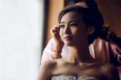 短发新娘适合什么头饰?