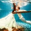 现在才来秀,我们的水下婚纱照~