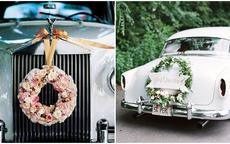创意婚车装饰技巧 让你的婚礼车队回头率翻倍