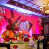 老字号里的中式婚礼 点香火中式餐纸中国风十足