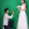 #微笑婚纱照#森系婚纱照还有各种内景