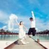晒晒我的马尔代夫拍的婚纱照