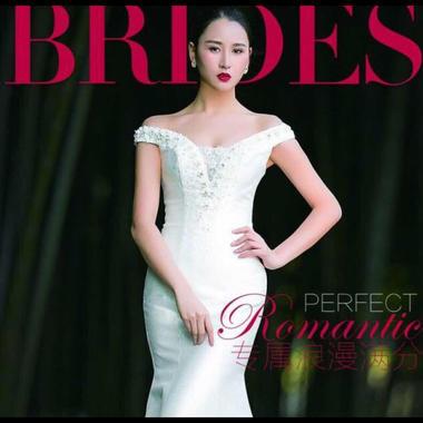 台湾布蕾丝婚纱