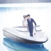 当爱情的小船升级为婚姻的巨轮 晒晒游艇婚纱照