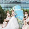 Tiffany蓝色大蛋糕做北京 超爱小清新