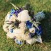 胶片质感的海洋风草坪婚礼全记录