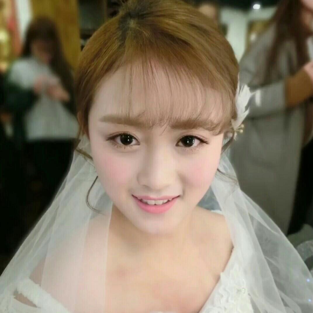 苗淼新娘跟妆