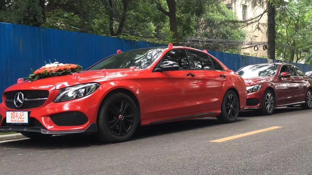 【奔驰】C200L 红色