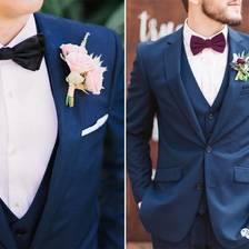 为老公选西装领结有什么窍门吗?
