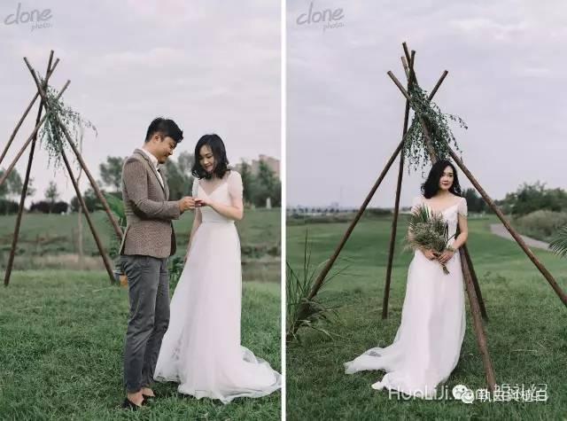 顶住父母压力,这场反套路的绿植婚礼细节满分!