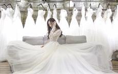 冬季婚纱就要选这样的,保暖显瘦又显气质