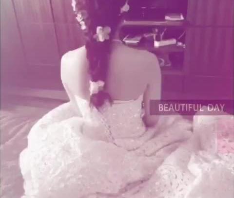 婚礼跟妆视频最美新娘