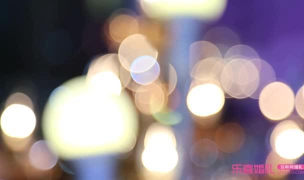 紫色典雅浪漫轻奢欧式婚礼幻