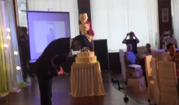 婚礼主持李云的现场视频