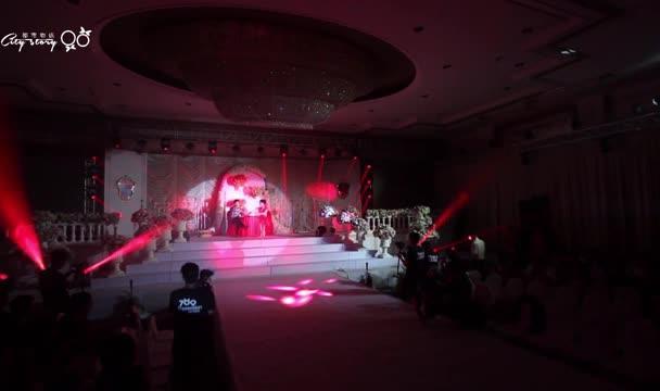 主持人小洋中式潮式婚礼主持视频片段