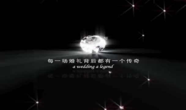 鲜花婚礼策划现场视频