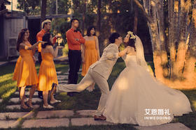 艾恩婚礼 | 活泼橙色系婚礼
