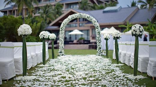 浪漫西式婚礼