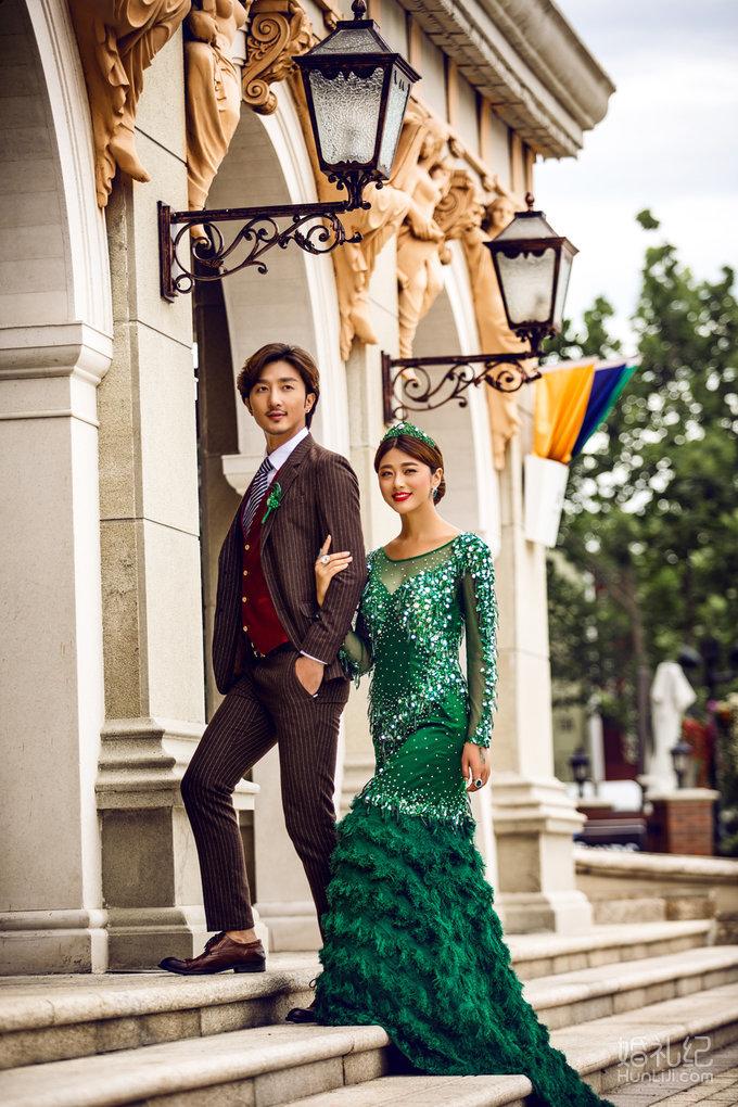 爱情城堡欧式婚纱照
