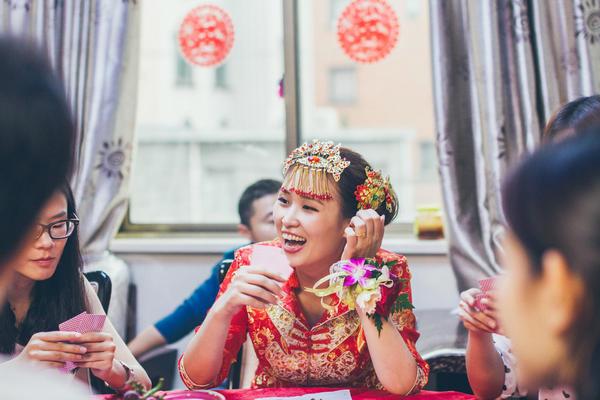 典型中式萧山婚礼 ,创意的接亲方式