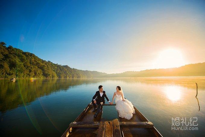 巴厘岛婚纱旅拍作品,婚礼摄影,婚礼纪 hunliji.com