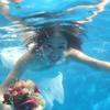 水下婚纱照不容易啊!样片发发