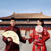 太庙系列的婚纱照,中式复古风!