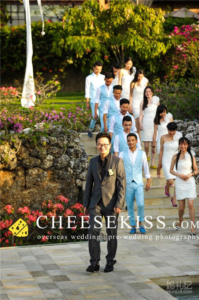 芝心海外摄影婚礼 巴厘岛阿雅娜酒店别墅婚礼