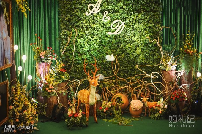 森林童话主题婚礼图片展示
