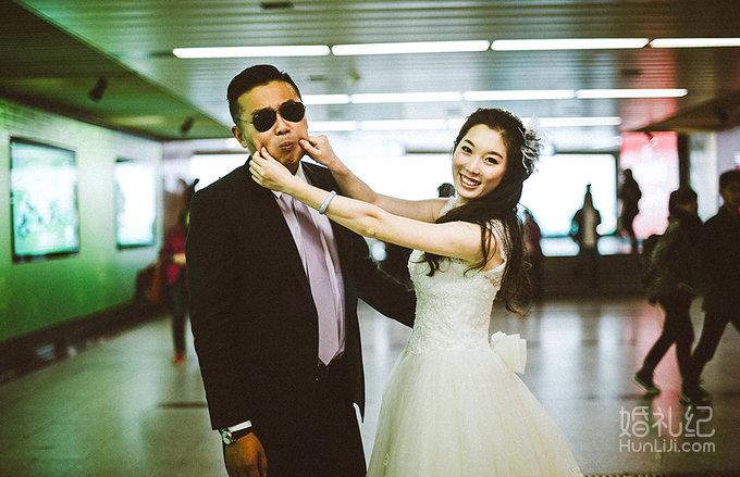小虫婚礼摄影总监档拍摄 双机位图片