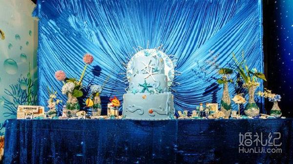 设计喷绘kt板舞台背景装饰(12m*4m以内,个性定制) 或星空幕布 婚礼