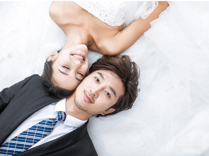 韩式小清新简约婚纱照