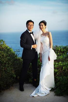 巴厘岛浪漫婚礼