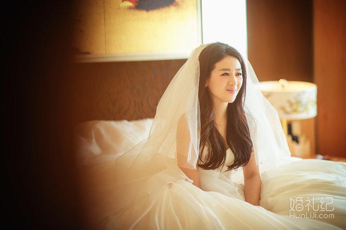 明星小李琳,经超婚礼