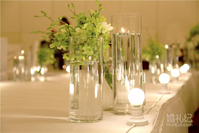 白绿色森系婚礼!