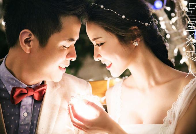 「夜景婚纱客片分享」送给:陈天翔&李稚