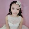 跟风试了一下韩式新娘妆,没想到效果不错