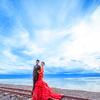 茶卡盐湖婚纱照