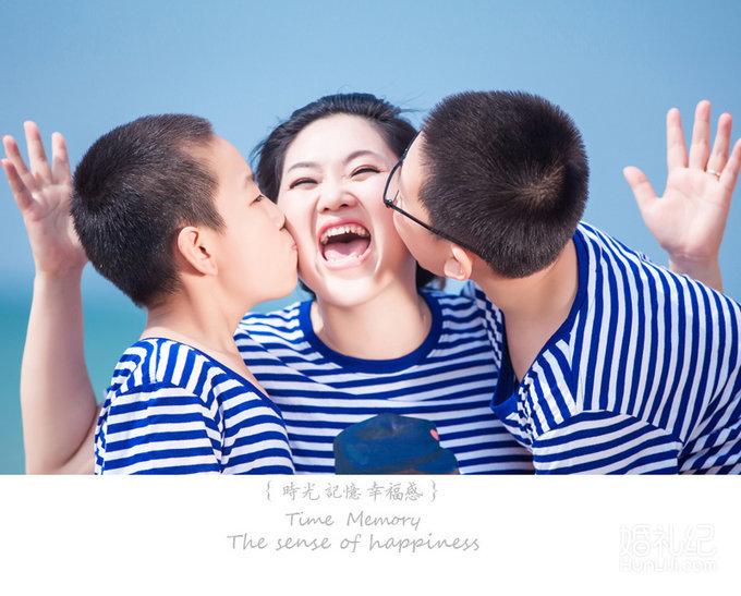 海边假日|来自北京的周女士一家人